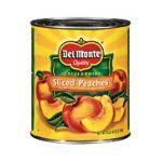 Del monte -  California Sliced Peaches 0024000020721