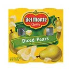 Del monte -  Pear Cup Diced Pears In Heavy Syrup 0024000025498