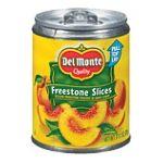 Del monte -  Peaches Freestone Slices 0024000030195