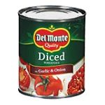 Del monte -  Peeled Diced Tomatoes Garlic & Onion 0024000034735