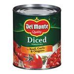 Del monte -  Diced Tomatoes With Basil Garlic & Oregano 0024000034742