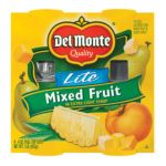 Del monte -  In Extra Light Syrup Mixed Fruit Lite 0024000115526