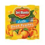 Del monte -  Diced Peaches 0024000115625