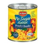 Del monte -  Canned Fruit Peach Chunks 0024000132158