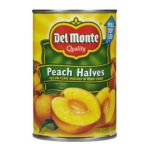 Del monte -  Yellow Cling Peach Halves In Heavy Syrup 0024000167143