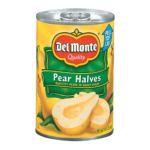 Del monte -  Pear Halves 0024000167259