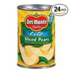 Del monte -  Pears Sliced 0024000167303