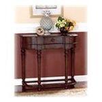 Ashley Furniture -  Dark Rustic Brown Sofa Table - Signature Design by Ashley Furniture 0024052010381