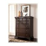 Ashley Furniture - Cherry Brown Chest by Ashley Furniture 0024052061598  / UPC 024052061598
