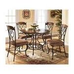 Ashley Furniture - 5 Piece Round Dining Room Table Set by Ashley Furniture 0024052062052  / UPC 024052062052