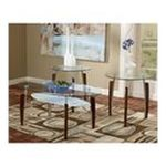 Ashley Furniture - 3 Piece Nickel Occasional Table Set by Ashley Furniture 0024052062311  / UPC 024052062311