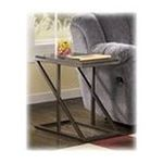 Ashley Furniture - Faux Stone Chairside End Table by Ashley Furniture 0024052100402  / UPC 024052100402