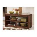 Ashley Furniture -  Medium Brown Console Sofa Table - Signature Design by Ashley Furniture 0024052106770