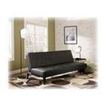 Ashley Furniture -  Black Flip Flop Armless Sofa - Signature Design by Ashley Furniture 0024052120110