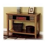 Ashley Furniture - Light Brown Console Sofa Table - Signature Design by Ashley Furniture 0024052123074  / UPC 024052123074