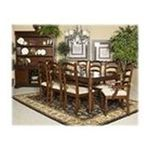 Ashley Furniture - Set of 2 Medium Brown Dining Upholstered Arm Chair by Ashley Furniture 0024052136487  / UPC 024052136487