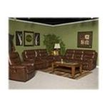 Ashley Furniture - Brown Leather Reclining Power Sofa by Ashley Furniture 0024052175264  / UPC 024052175264