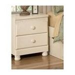 Ashley Furniture - Soft Cream Color Night Stand by Ashley Furniture 0024052213928  / UPC 024052213928