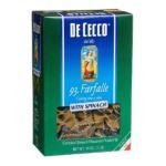 Dececco -  Spinich Pasta Farfalle Unit 0024094370931