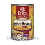 Eden Foods -  Organic Rice & Kidney Beans 0024182002225