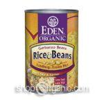 Eden Foods -  Organic Rice & Beans Garbanzo Beans Lundberg Brown Rice 0024182002232