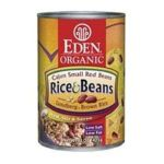 Eden Foods -  Organic Cajun Rice & Small Red Beans 0024182002263