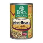 Eden Foods -  Organic Green Lentils And Brown Rice 0024182002270