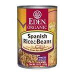 Eden Foods -  Spanish Rice & Pinto Beans Organic Each 0024182002287