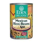 Eden Foods -  Organic Mexican Rice & Beans Lundberg Brown Rice And Black Beans 0024182002324