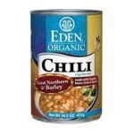 Eden Foods -  Chili Organic Great Northern 0024182002355
