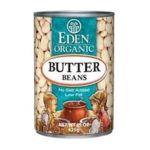 Eden Foods -  Butter Beans 0024182002584