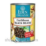 Eden Foods -  Eden Organic Caribbean Black Beans Cans 0024182002720