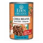 Eden Foods -  Organic Chili Beans With Jalapenos And Red Peppers 0024182002843