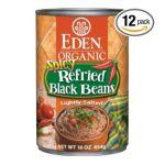Eden Foods -  Refried Black Beans 0024182002942