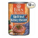 Eden Foods -  Organic Refried Kidney Beans 0024182002966