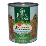 Eden Foods -  Organic Crushed Tomatoes With Sweet Basil 0024182011203