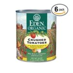 Eden Foods -  Organic Crushed Tomatoes With Roasted Onion & Roasted Garlic 7 0024182011210