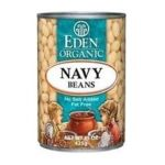 Eden Foods -  Organic Navy Beans 0024182029505