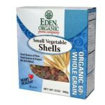 Eden Foods -  Organic Small Vegetable Shells 60% Whole Grain Boxes 0024182111200
