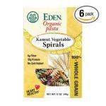 Eden Foods -  Kamut Vegetable Spirals 0024182111507