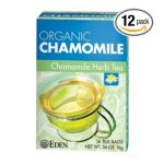 Eden Foods -  Organic Chamomile Herb Tea 0024182181425