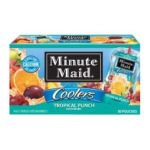 Minute Maid - Coolers Tropical Punch Fruit Drink Pouches 0025000005619  / UPC 025000005619