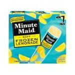 Minute Maid - Soft Frozen Lemonade 0025000035265  / UPC 025000035265