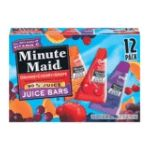 Minute Maid - Juice Bars Orange Cherry And Grape 0025000035319  / UPC 025000035319