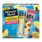 Minute Maid - Frozen Lemonade 0025000035654  / UPC 025000035654