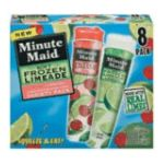 Minute Maid - Frozen Limeade Soft Cherry & Limonada 0025000035685  / UPC 025000035685