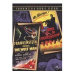 Alcohol generic group -  Frankenstein Meets The Wolf Man Of Frankenstein Double Feature Full Frame 0025192140129