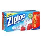 Ziploc - Ziploc Storage Bag, Quart Value Pack-50 ct 0025700003106  / UPC 025700003106