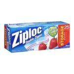 Ziploc - Ziploc Storage Bags Quart 25 Count box 0025700003304  / UPC 025700003304