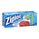 Ziploc - Freezer Bag (Set of 20) 0025700003885  / UPC 025700003885
